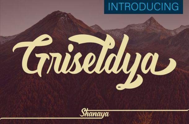Griseldya Script Font