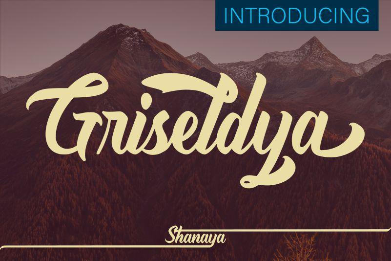 Griseldya Script Font-1