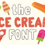 Icecreamer Font