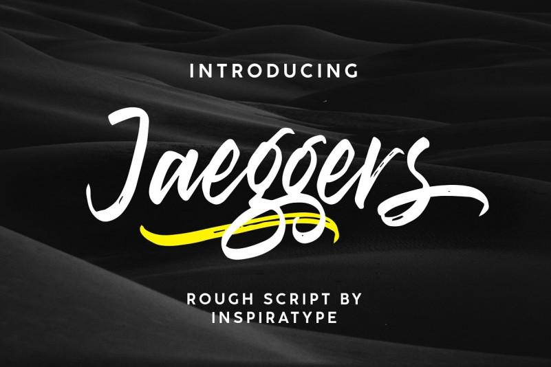 Jaeggers Font-1