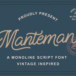 Manteman Font