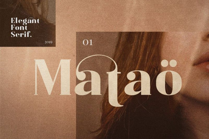 Mataö Serif Font-1