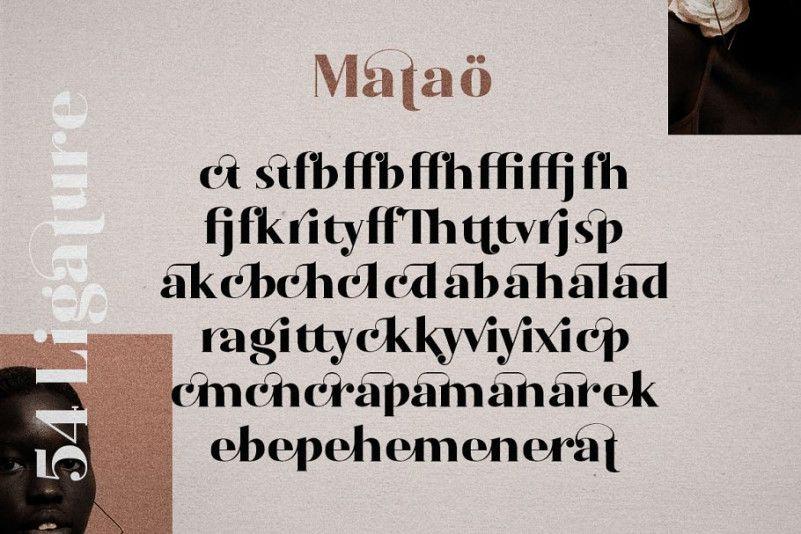 Mataö Serif Font-2
