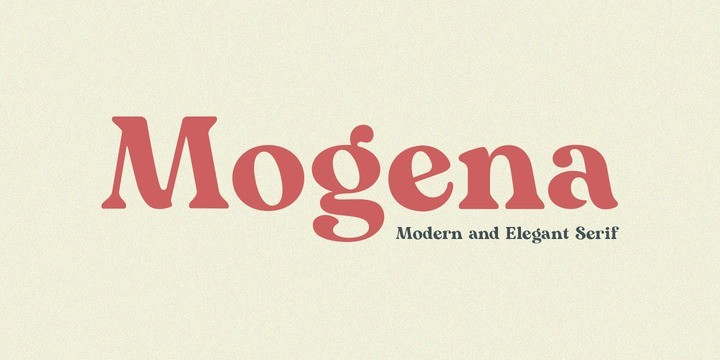Mogena Font-1