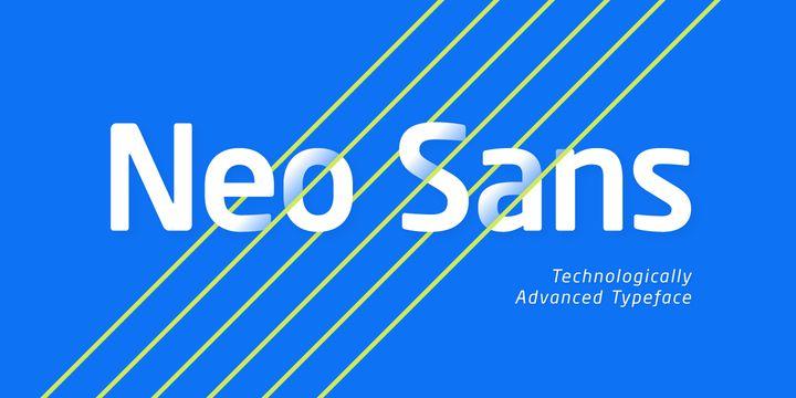 Neo Sans Font-1