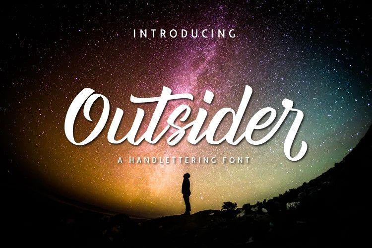 Outsider Font-1