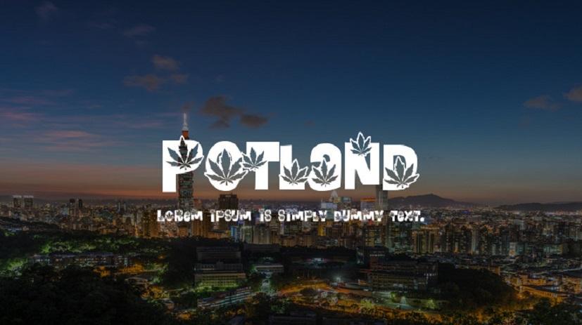 Potland-font