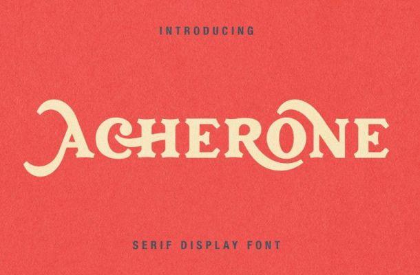 Acherone Font