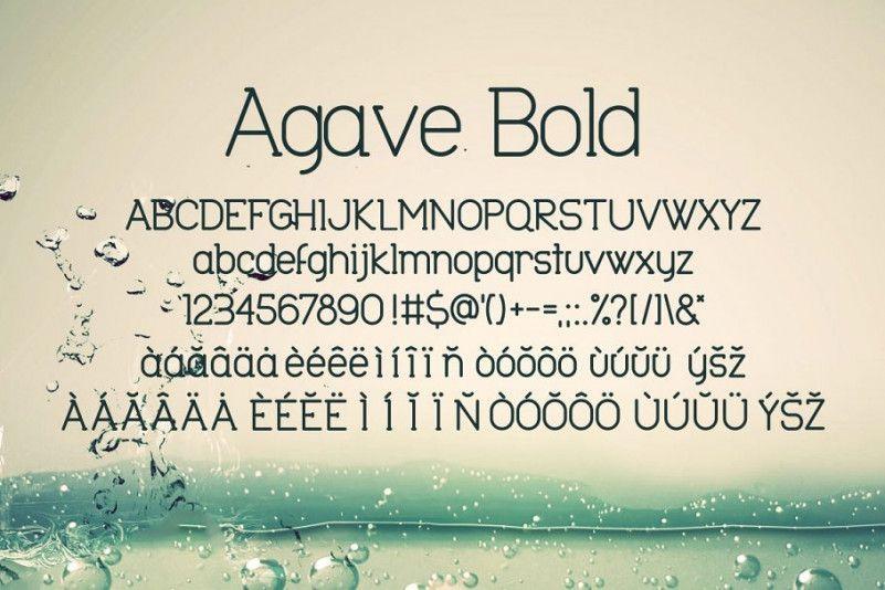 agave-font-3