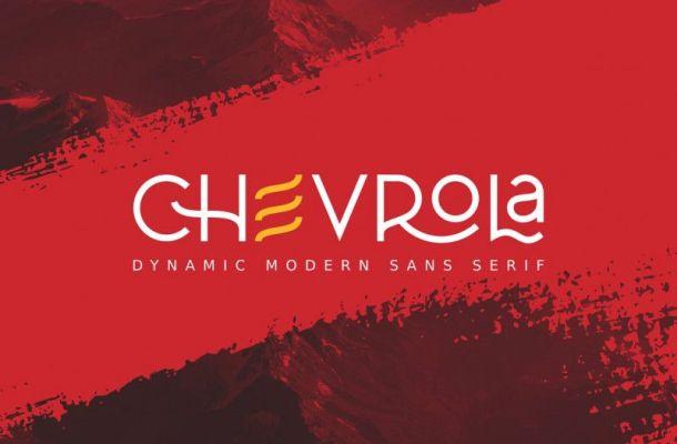 Al Chevrola Modern Sans Font