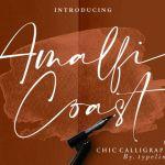 Amalfi Coast Script Font