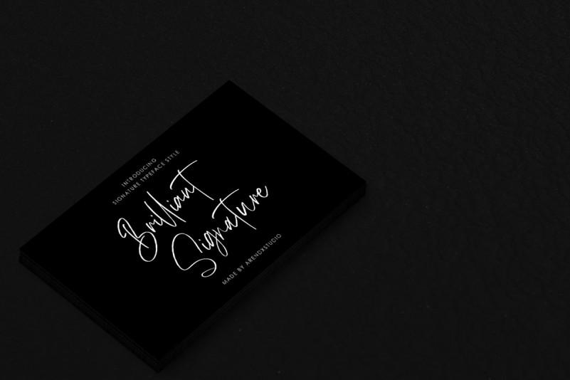 brilliant-signature-font-3