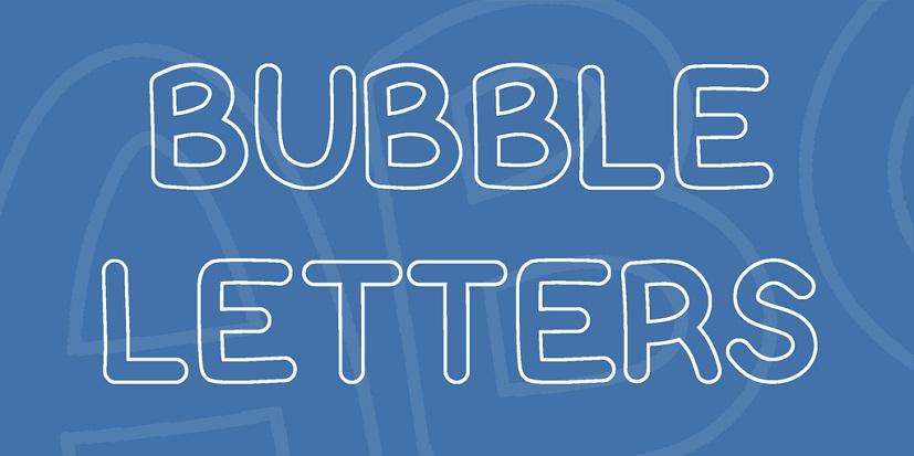 bubble-letters-font-1