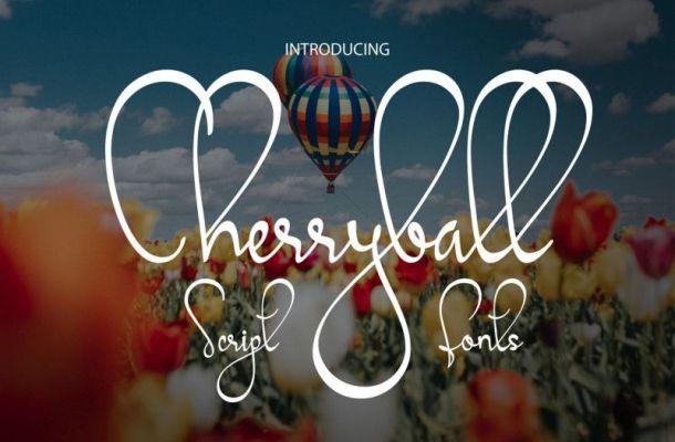 Cherryball Font