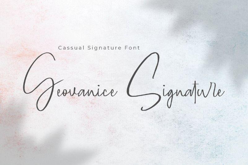 geovanice-signature-font-1