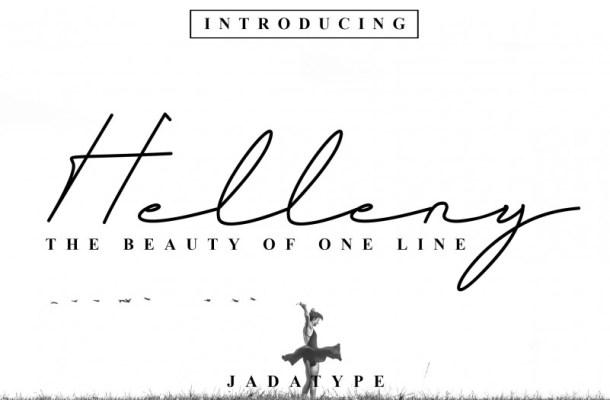 Helleny Font