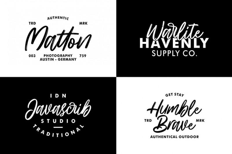 hillbear-brush-font-2