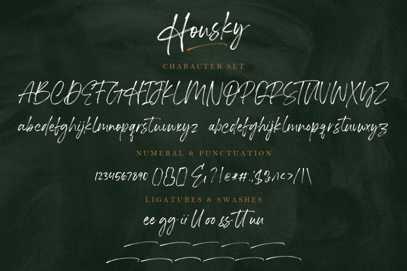 housky-brush-font-3