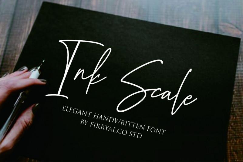 ink-scale-handwritten-font-1