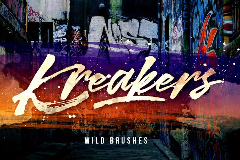 kreakers-brush-font-1