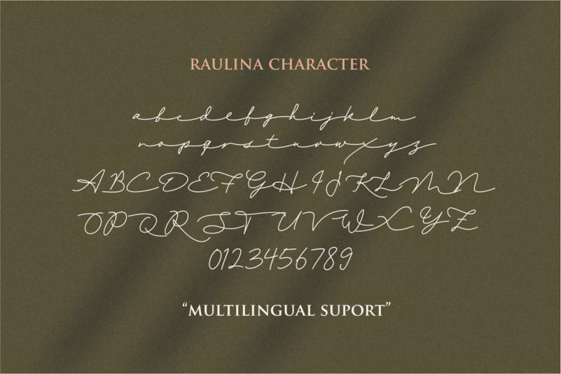 raulina-signature-font-3