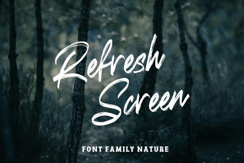 refresh-screen-font-1