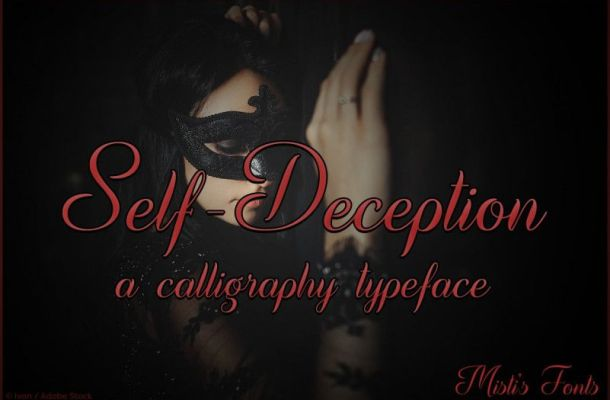 Self Deception Font