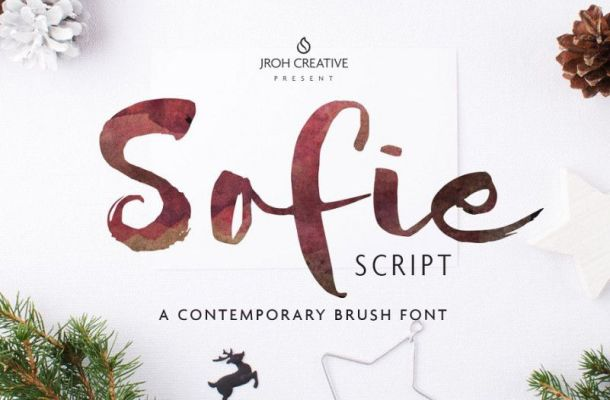 Sofie Script Font