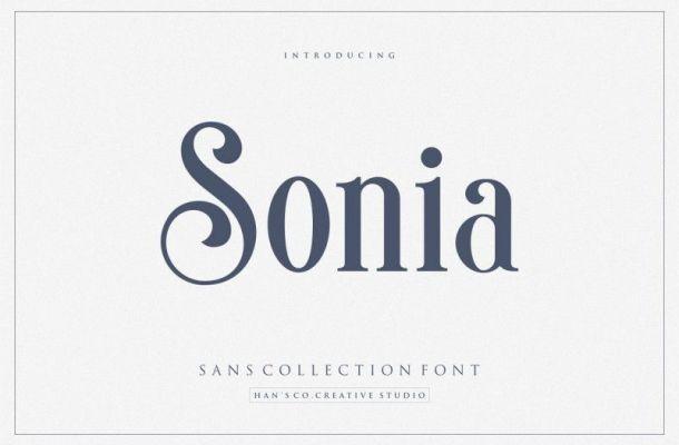 Sonia Serif Font