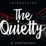The Quietty Script Font