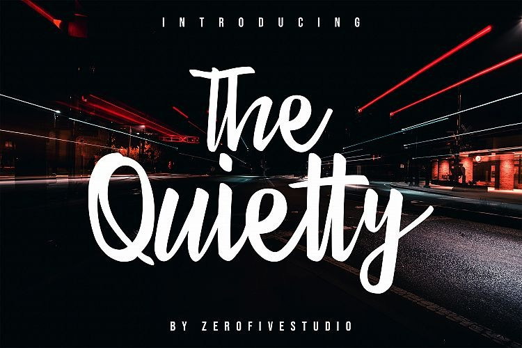 the-quietty-font