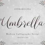 Umbrella Script Font