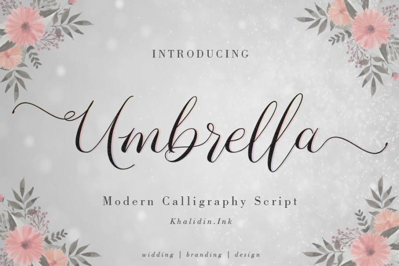umbrella-script-font-1