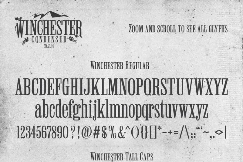 winchester-condensed-font-3