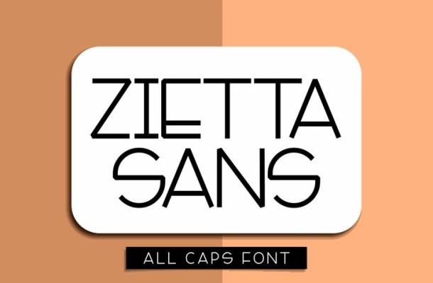 Zietta Sans Font