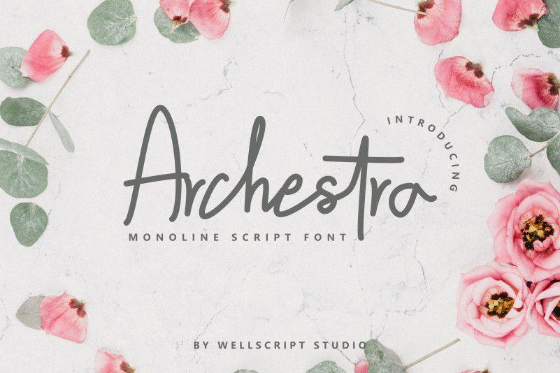 Archestra-Handwritten-Script-Font