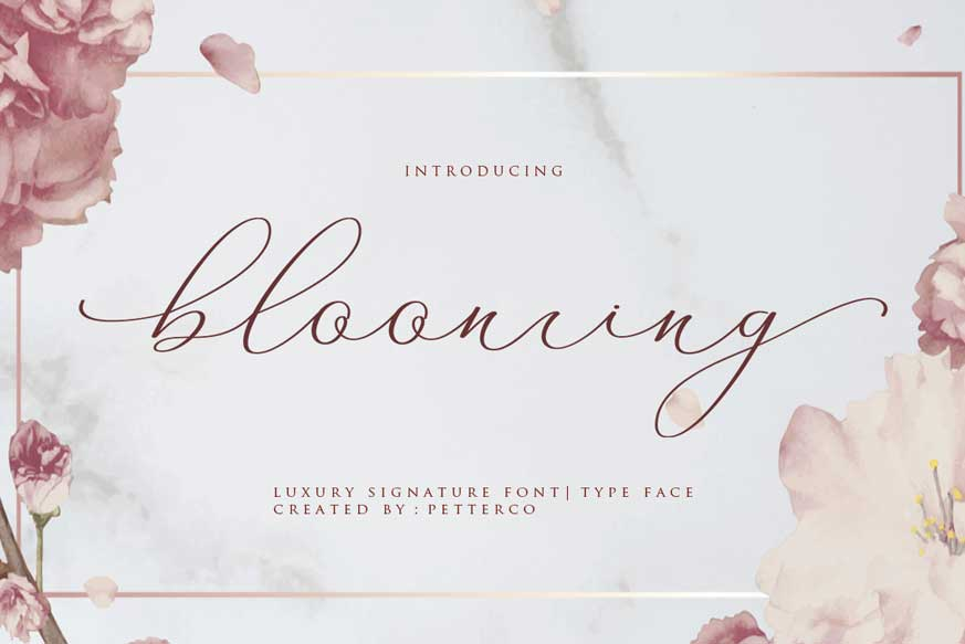 Blooming-font-1