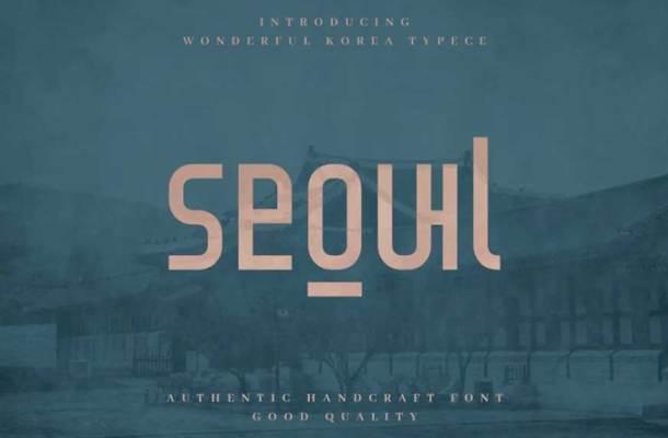 Seoul Font