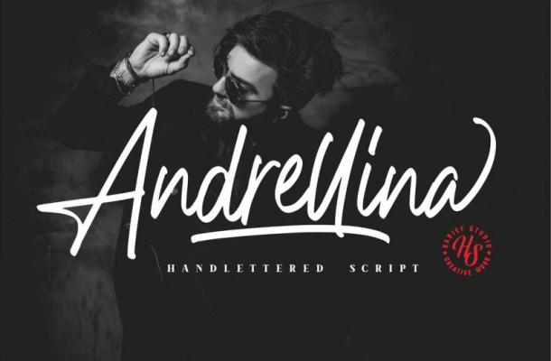 Andrellina Signature Font