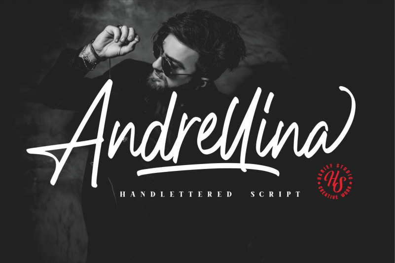 andrellina-signature-font-1