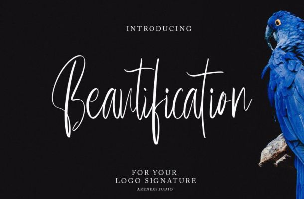 Beautification Font