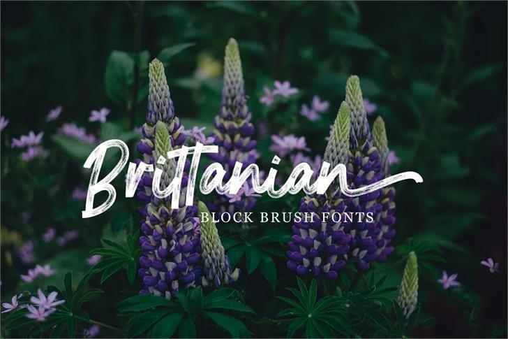 brittanian-font