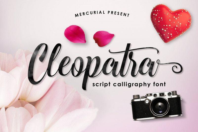 cleopatra-script-font
