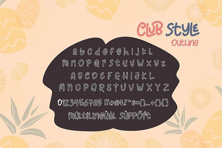 club-style-font-3