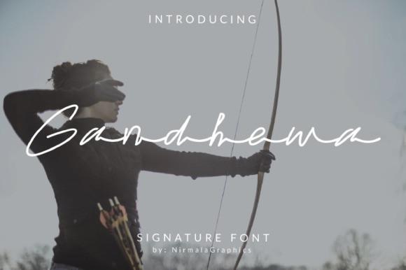 Gandhewa Font