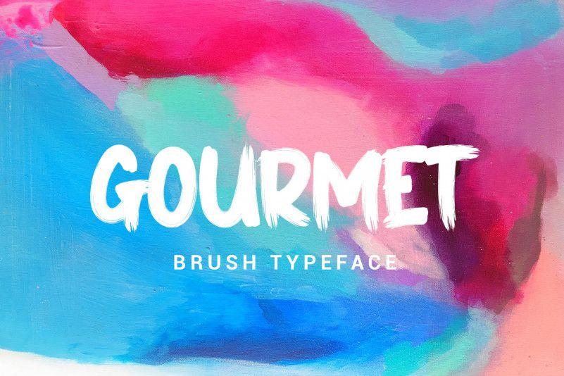 gourmet-font