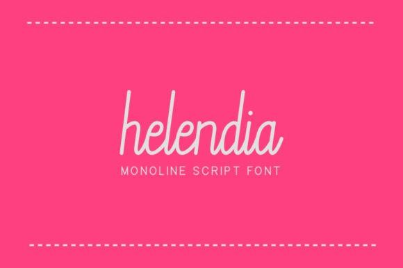 Helendia Font