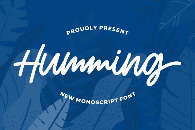 humming-font