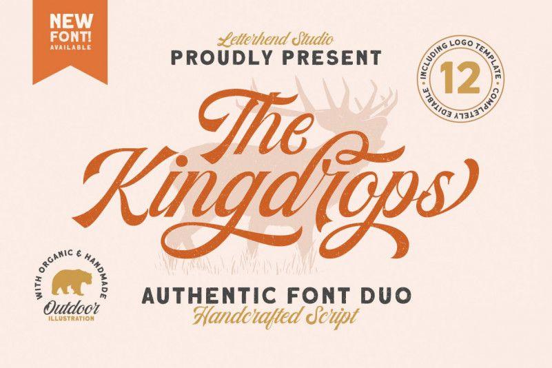 kingdrops-calligraphy-font