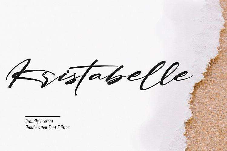kristabelle-script-font